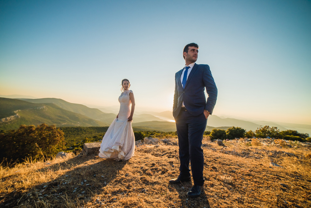 Romantic Wedding in Chalkida