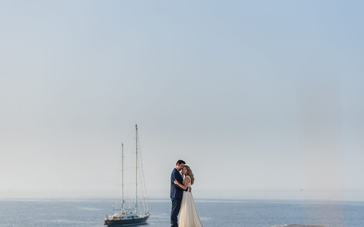 Panos & Ioanna, Wedding in Milos Island