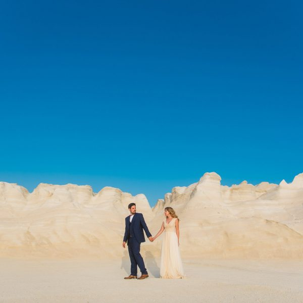 Destination Wedding in Milos Island