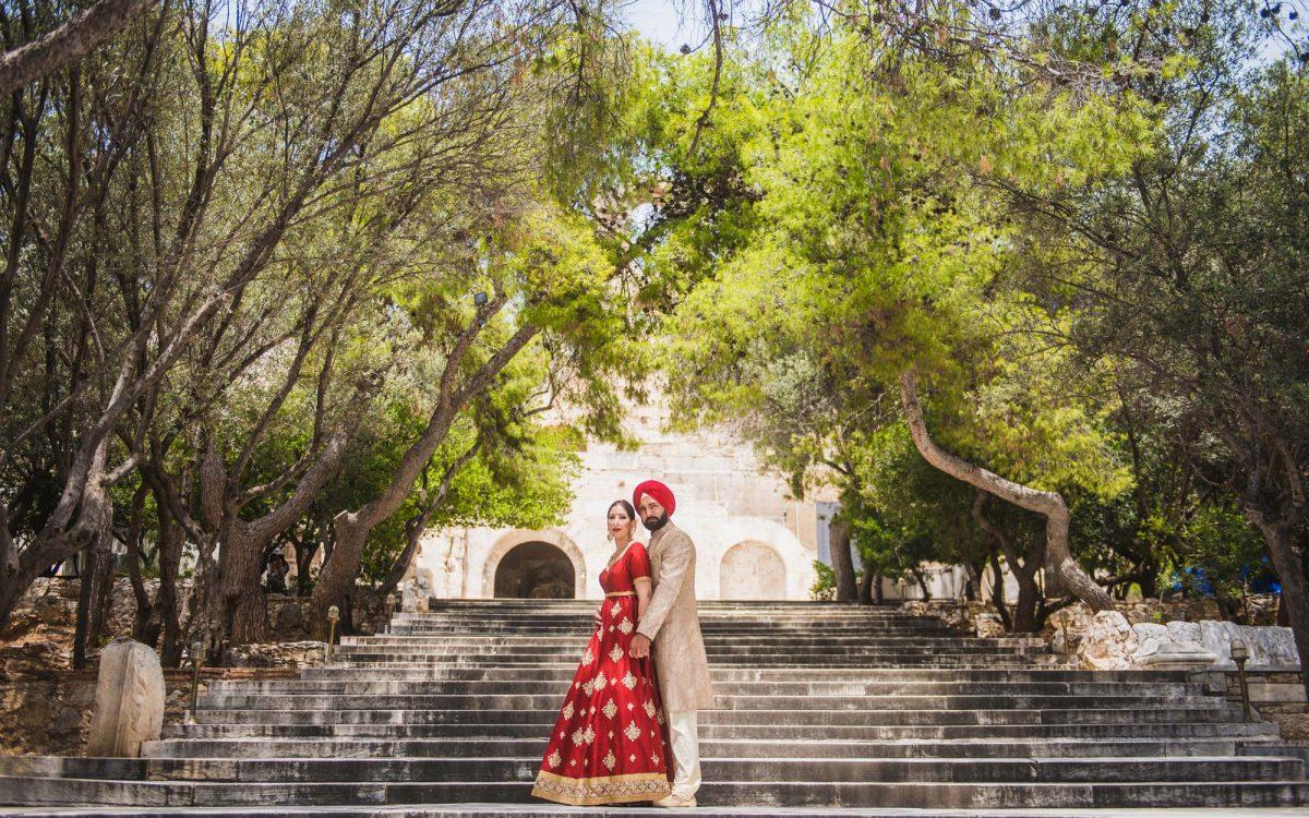 indian destination wedding in Greece