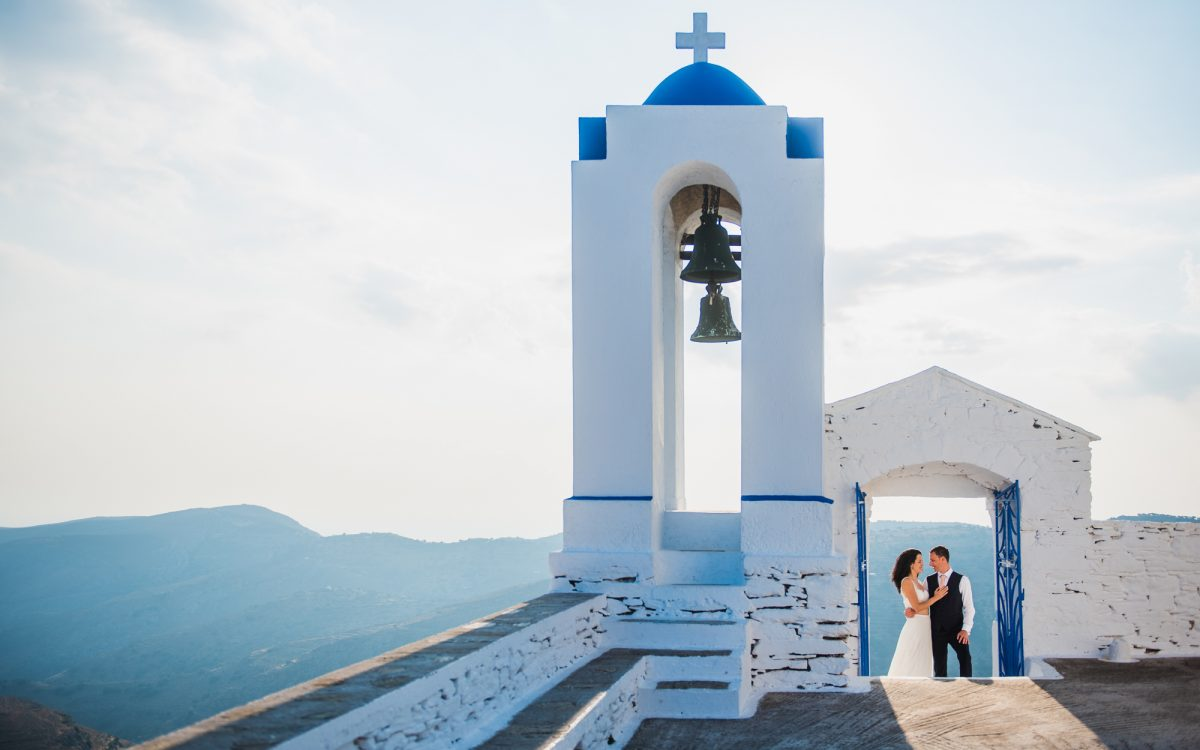 destination wedding in Kea island