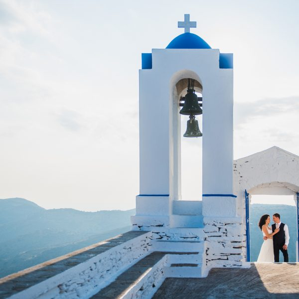 destination wedding in Kea island