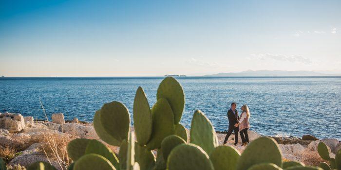 Pre wedding φωτογράφιση στον Πειραιά