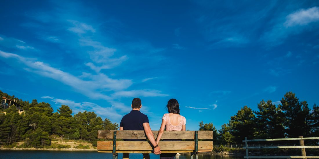 Pre wedding φωτογράφιση στην λίμνη Μπελέτσι