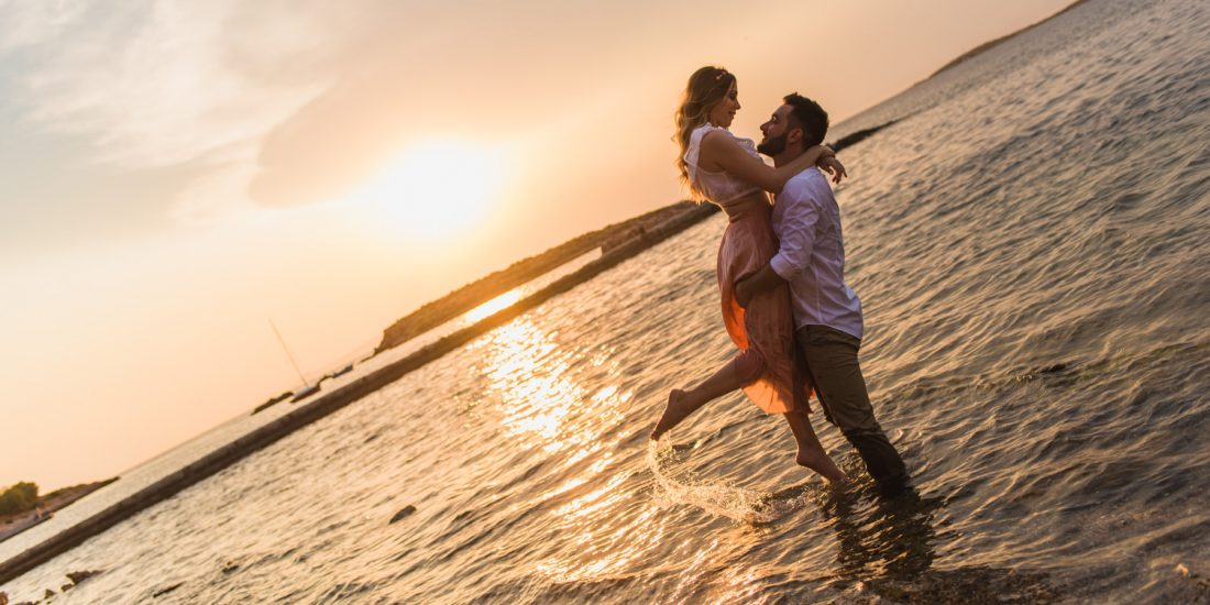 Pre wedding φωτογράφιση στο Καβούρι
