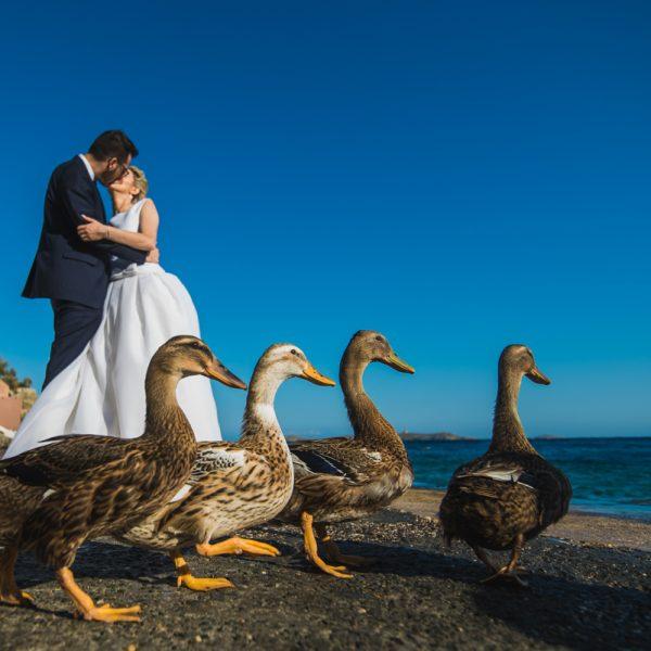 Φωτογράφιση γάμου στο The Residence