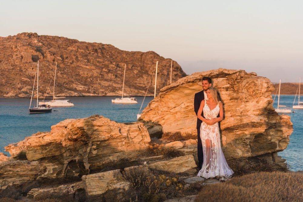 Destination γάμος στην Πάρο