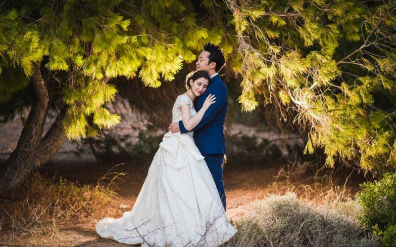 Ρομαντικός γάμος στην Αθήνα